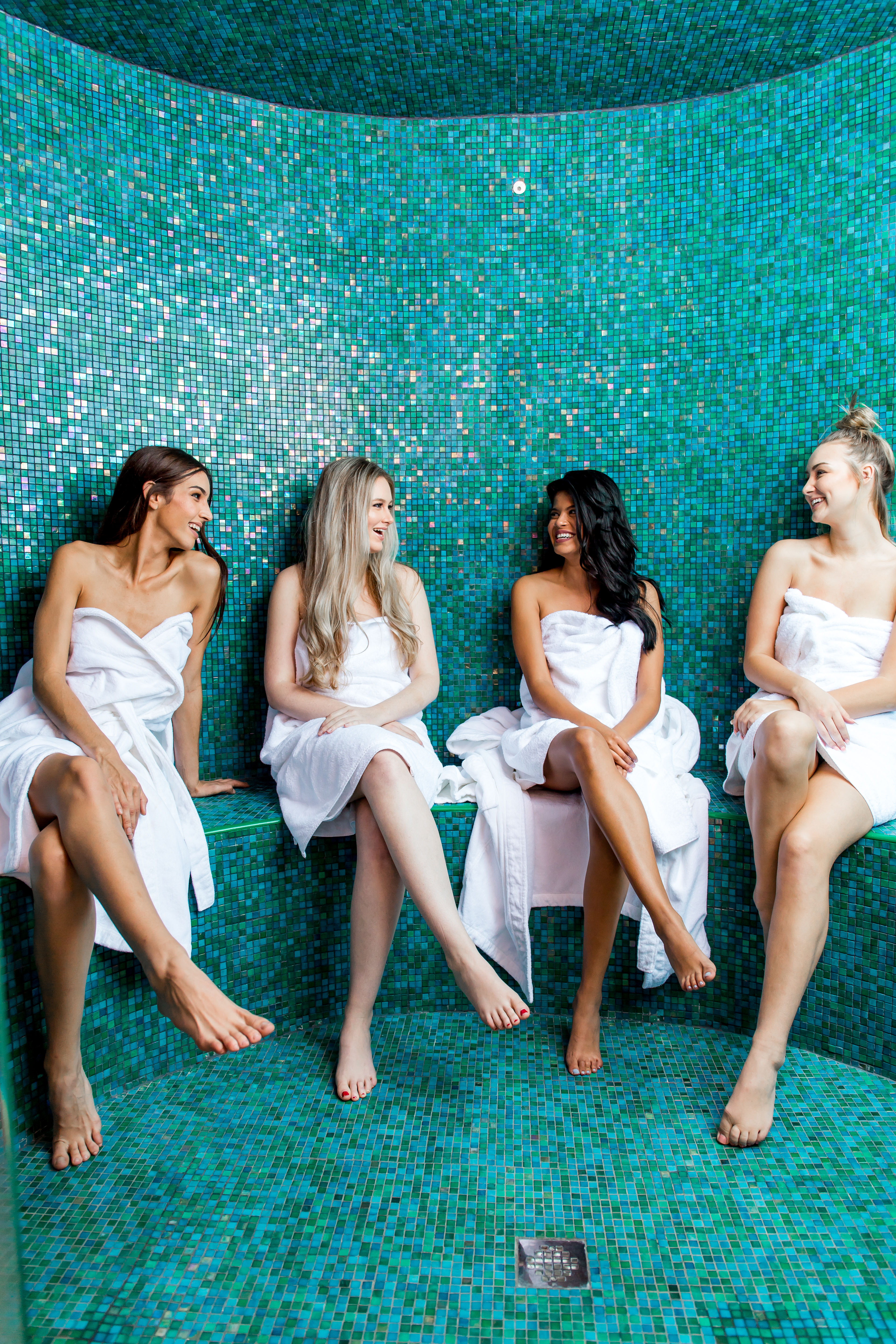 The onsite spa at Isolé Villas luxury rental space makes it one of the best corporate retreat locations in Florida