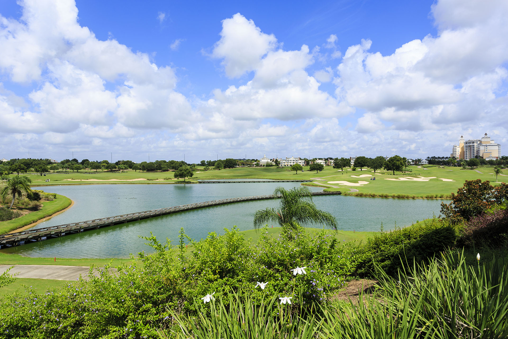 Spend a luxury golf vacation at Reunion Resort with the best courses in Central Florida