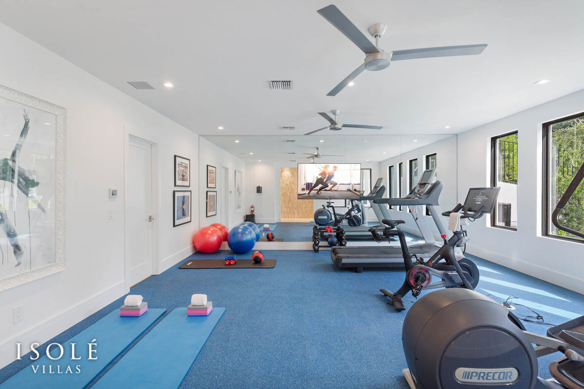 Isolé Villas Fitness Center